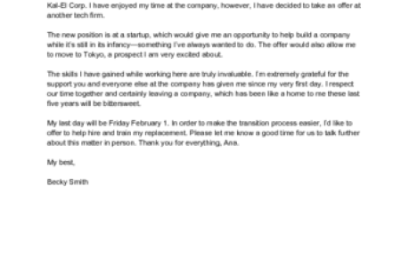 resignation letter format due to personal reason copy 3 simple