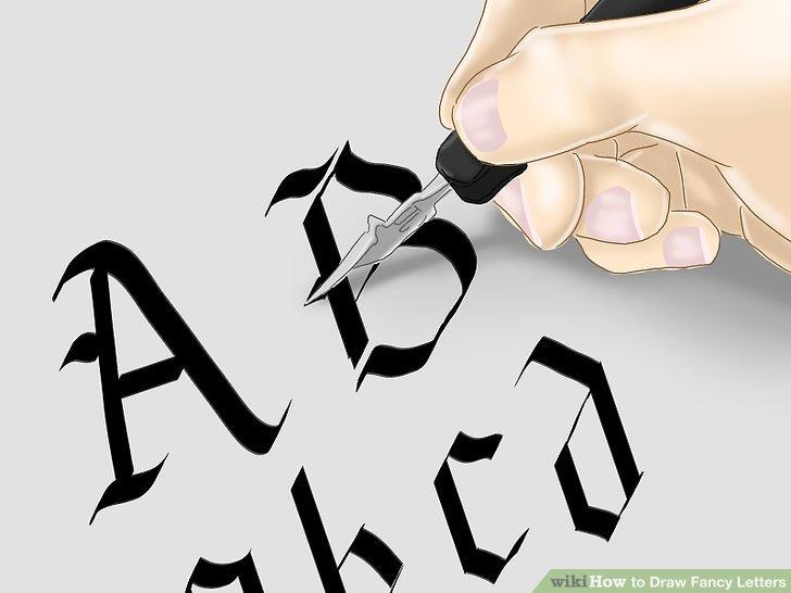 Fancy Ways Draw Letters