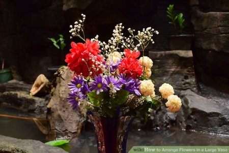 Tall Vase Artificial Flower Arrangements Beautiful Flowers 2019