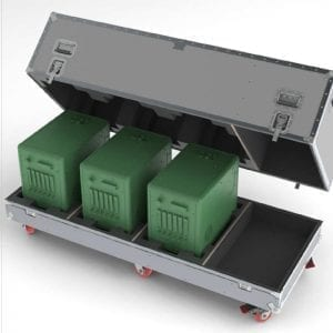 40-1161 shipping case for detector modules