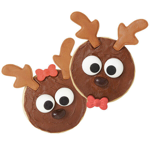 Reindeer Cookie Decorating Kit   Wilton Reindeer Cookie Decorating Kit