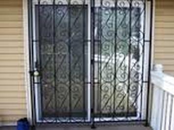 Patio Door Guard 201 855 6257 Windows Bars Com Newark Nj