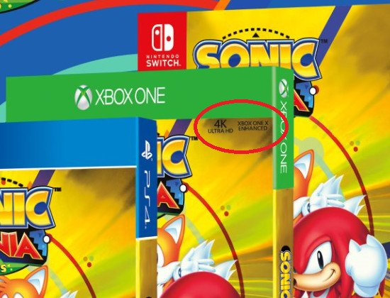Sonic Mania Plus box possibly confirms Xbox One X upgrade  new     The post on Twitter just says  Top Secret  and features clips of cars and a  logo with the letter  R  at the beginning  Many gamers on Facebook and  Twitter