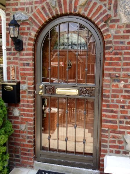 Metal Awnings Front Doors