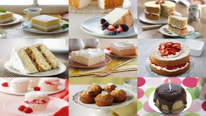 Types Cakes Recipes