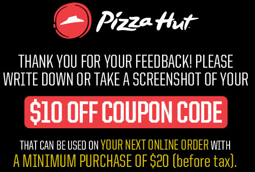 Pizza Hut App Canada