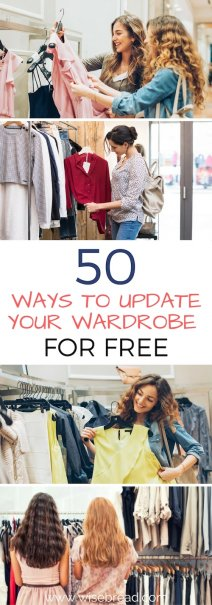 50 Ways to Update Your Wardrobe for Cheap