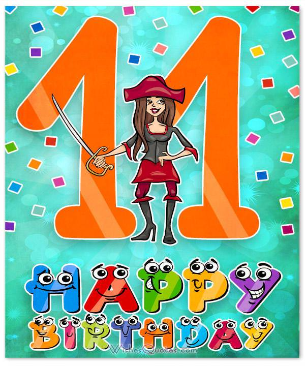 Happy 11th Birthday Wishes For 11 Year Old Boy Or Girl