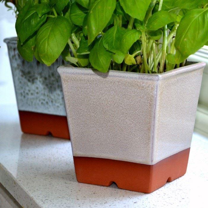 Terracotta Half Pots