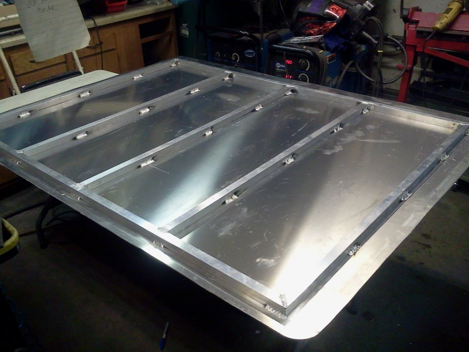 Aluminum Bed Cover