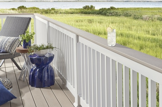 Outdoor Living Ideas Photo Gallery Wolf Home Products   Grey And White Banister   Furniture   Light Wood Banister   Runner Designsponge   Green White   Indoor