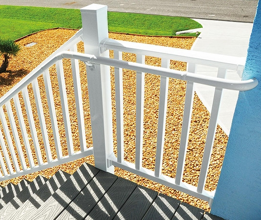 Westbury Aluminum Railing Systems From Wolf Wolf Home Products   Exterior Handrails Near Me   Wire   Iron   Screen   Diy   Post