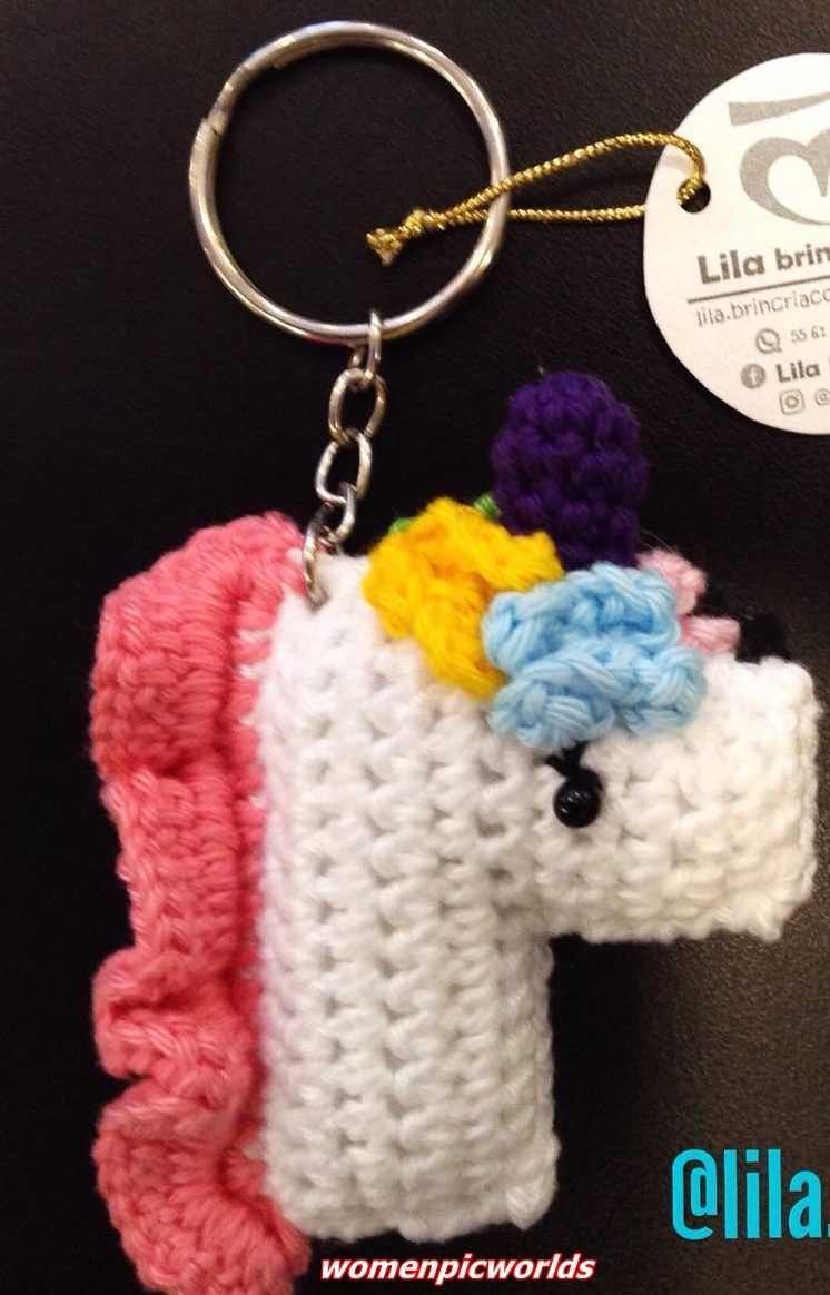 Crochet Butterfly Keychain Free Patterns | Crochet keychain ... | 1164x746