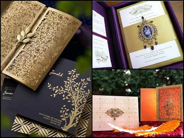Beautiful Wedding Cards Designs