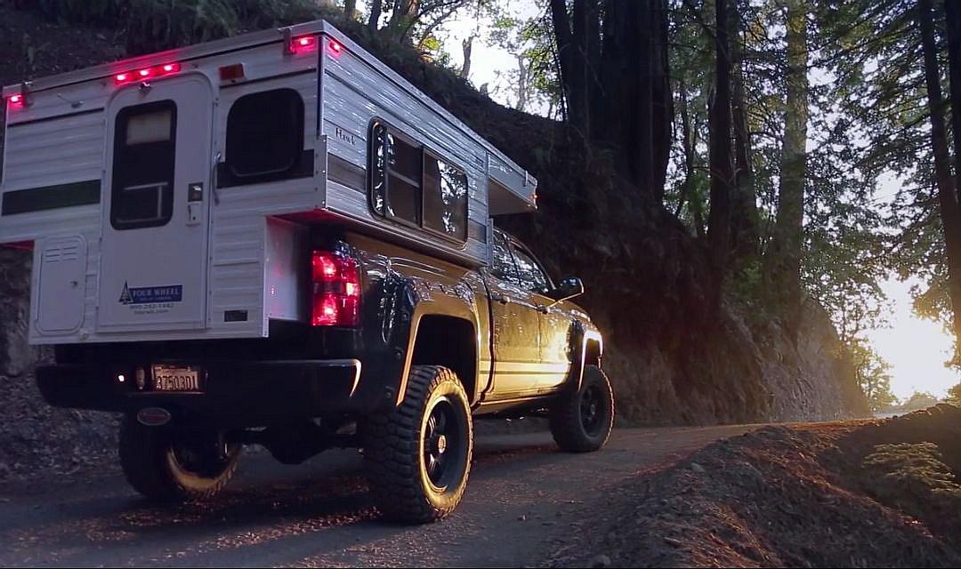 2014 Four Wheel Pop Up Campers Hawk Gmc Sierra Wohnmobil