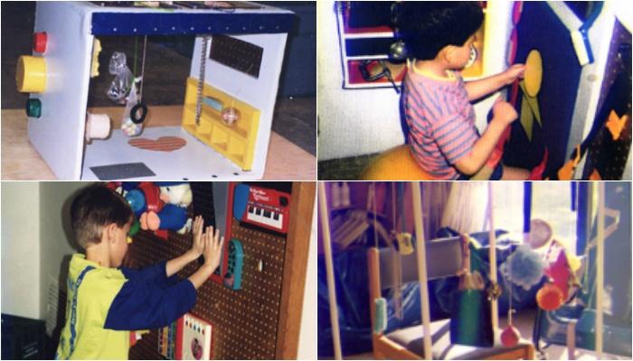Creating Sensory Activity Centers For Blind Children