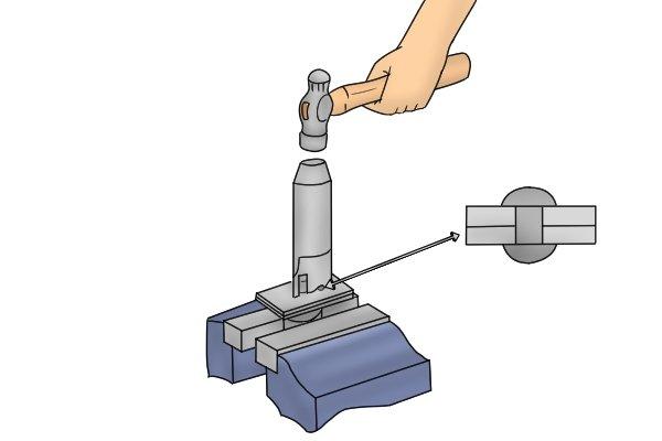 Hammer Riveting Snap
