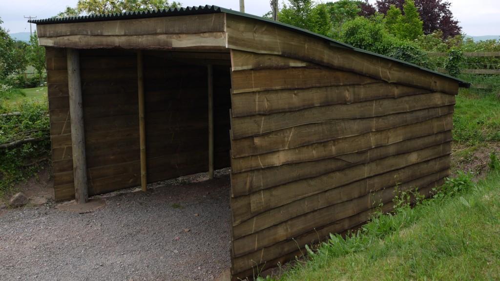 Wooden Carport The Wooden Workshop Oakford Devon