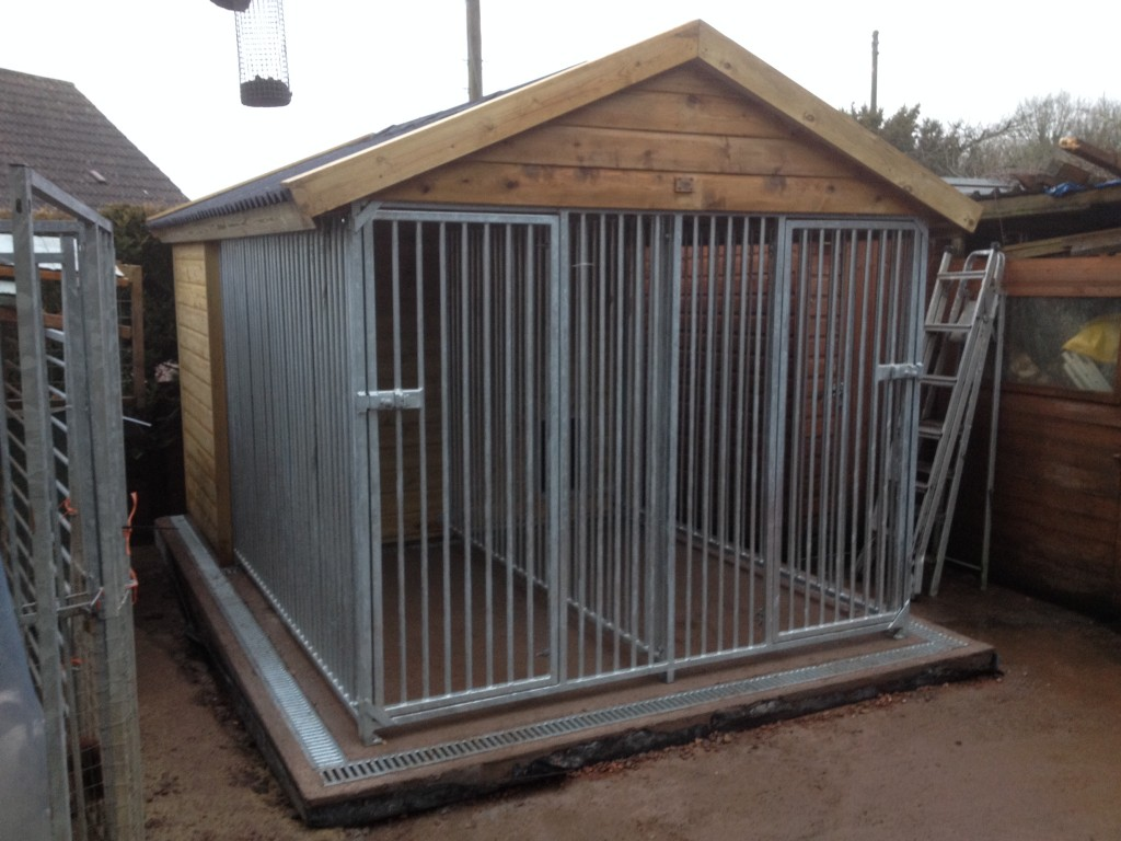Double Kennels The Wooden Workshop Oakford Devon