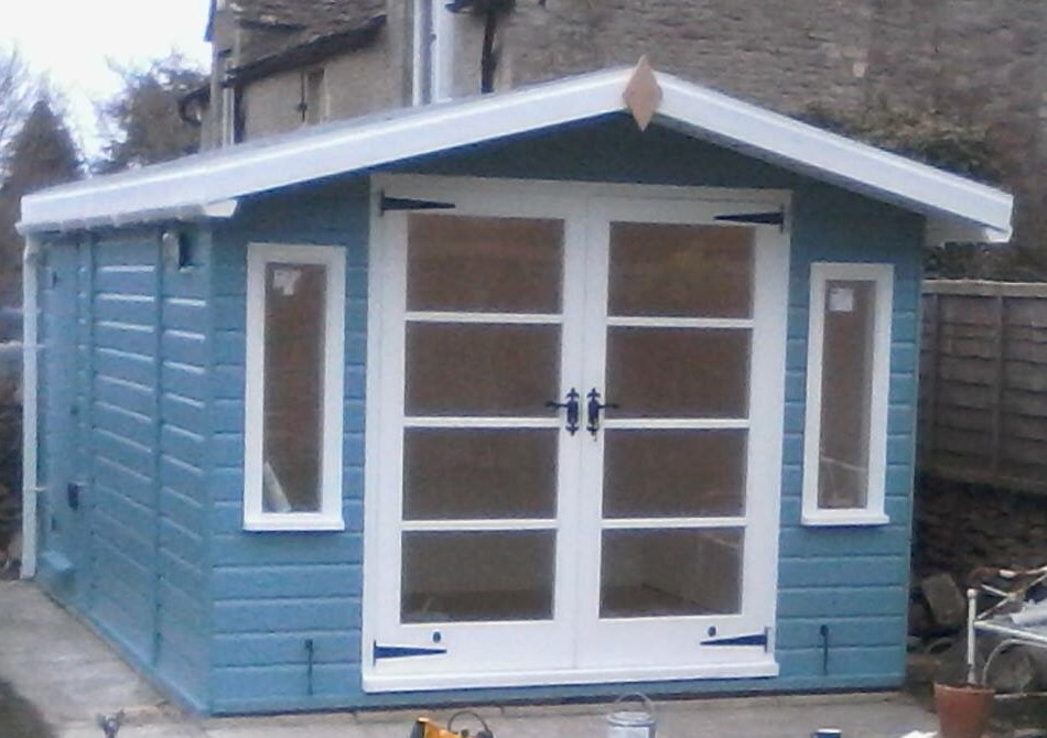 Double Doors Summerhouse Shed The Wooden Workshop
