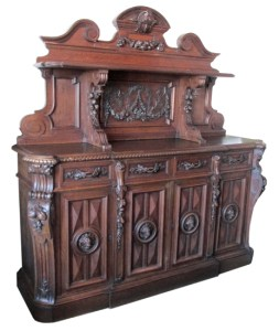 Antique Furniture   Wooden Nickel Antiques Carved European Sideboard