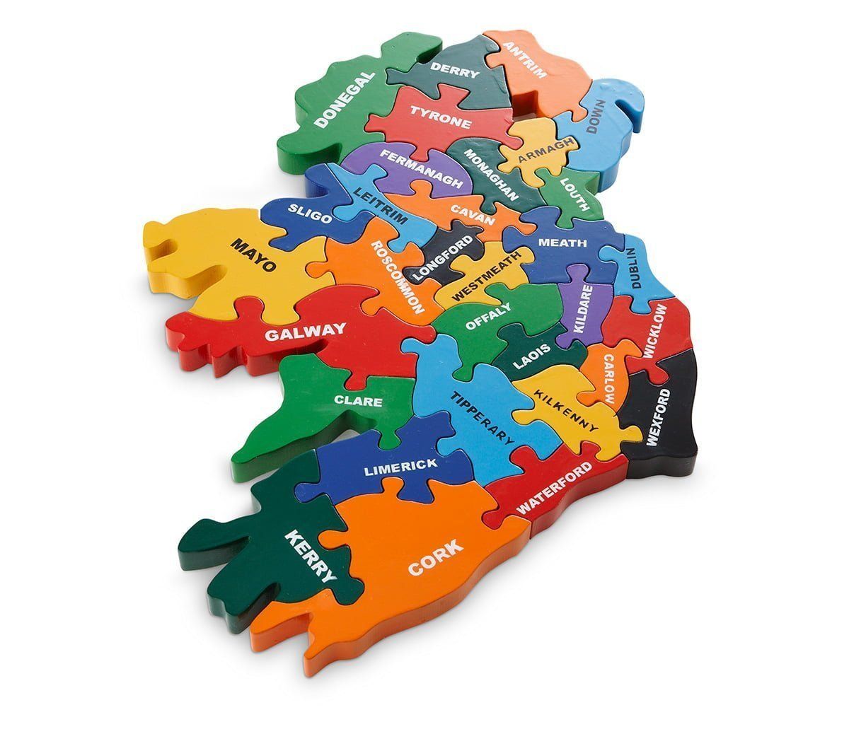 Map of Ireland   Wood Like To PlayWood Like To Play