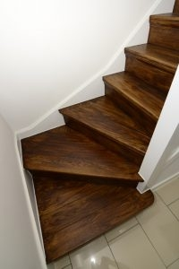 Best Wood Stair Finishes Stains Wood Stairs   Best Wood For Stair Risers   Hardwood Flooring   Paint   Stair Tread   Spindles   Wooden Stairs