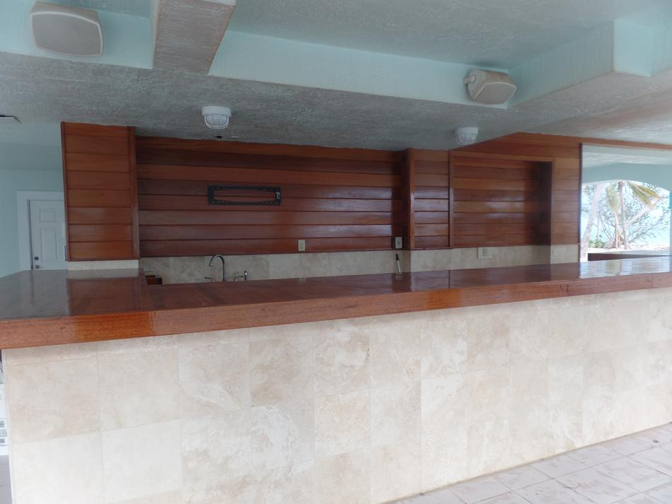 African Mahogany Ceiling