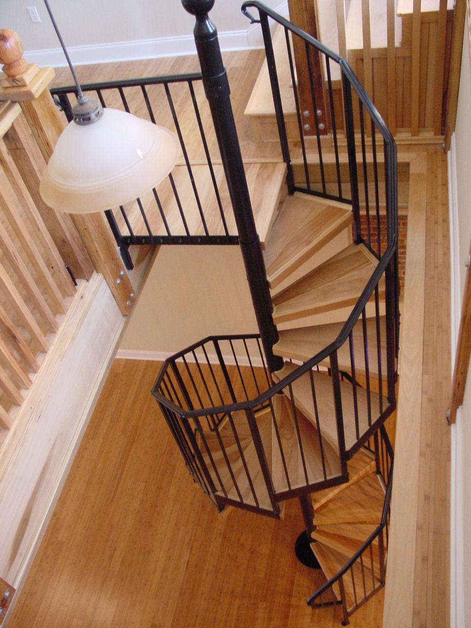 Spiral Stairway Treads