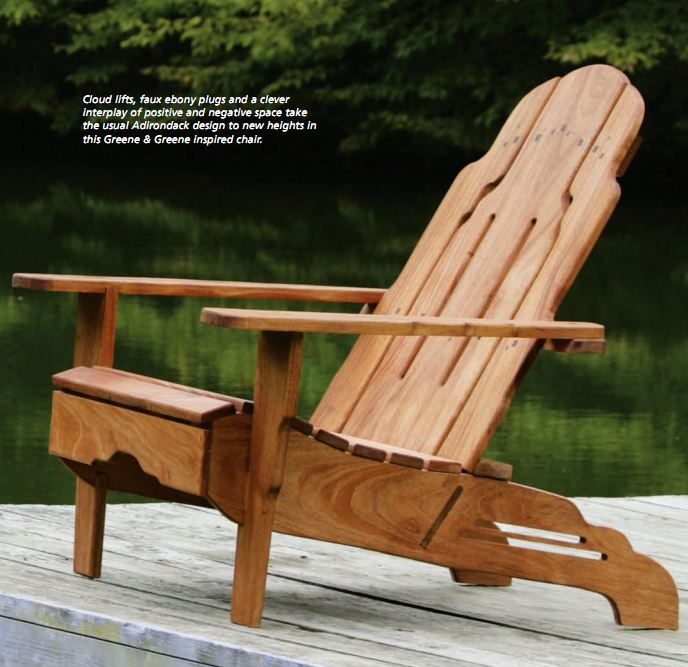 Greene And Greene Style Adirondack Chair Plans Free