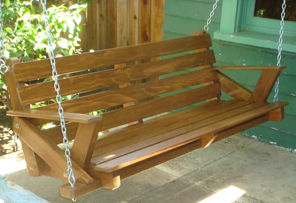 Porch Swing Woodworking Blog Videos Plans How To