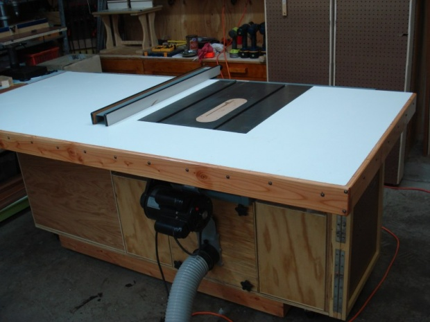 Table Saw Router Workstation Project Woodworking Talk