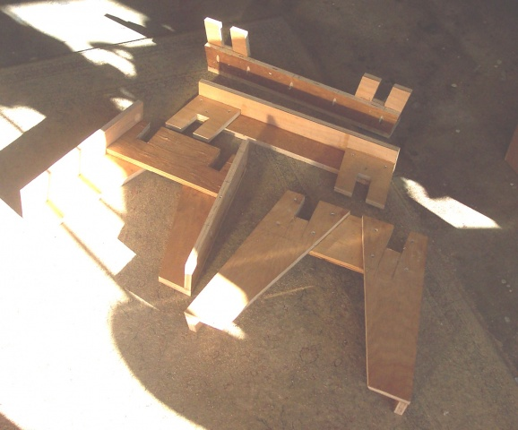 Portable Knockdown Tool Stand 3 Or 4 Legs Woodworking