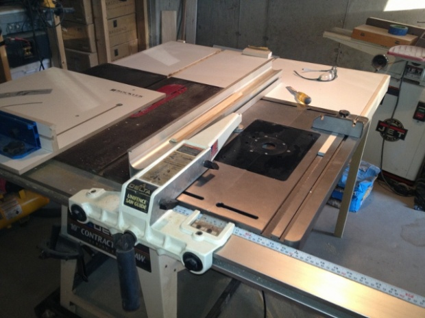 Outfeed Table For Tablesaw Woodworking Talk