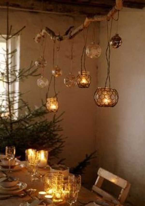 Chicken Wire Christmas Ornaments