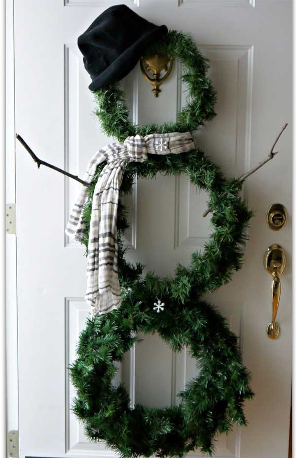 Top 35 Astonishing DIY Christmas Wreaths Ideas   Amazing DIY     DIY Christmas Wreath 4