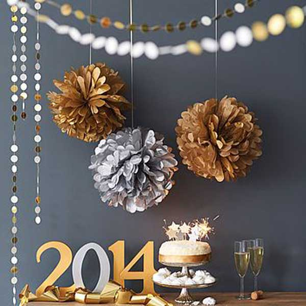 New Year Home Decoration Ideas