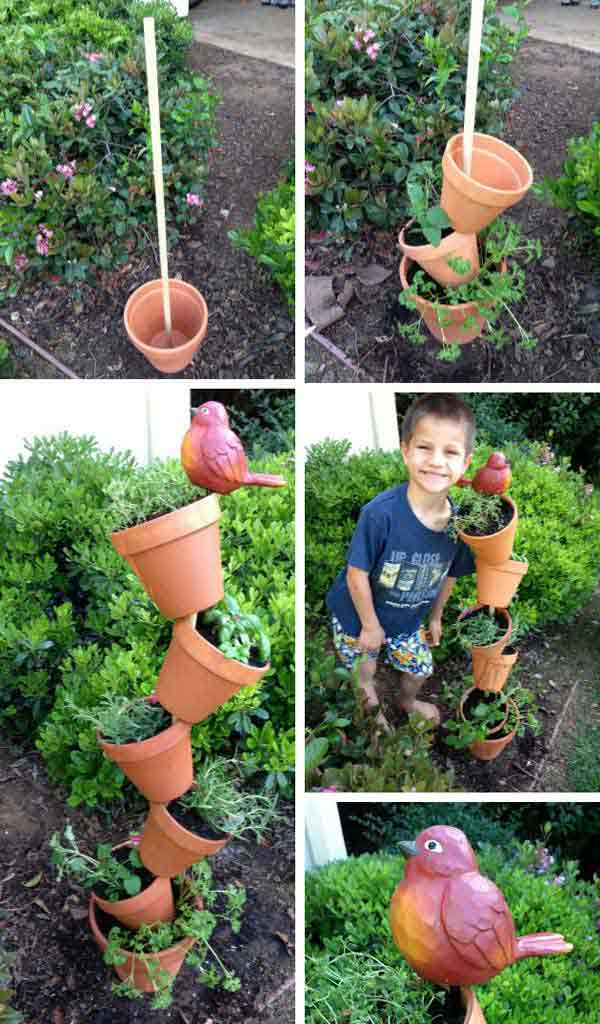 Vegetable Garden Decoration Ideas