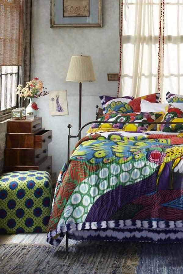 35 Charming Boho Chic Bedroom Decorating Ideas   Amazing DIY     charming boho bedroom ideas 12