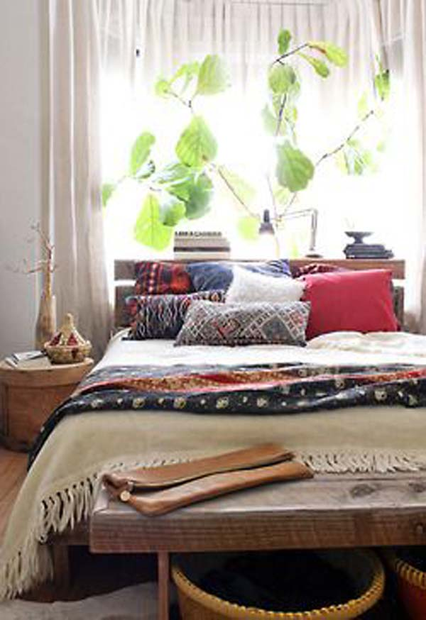 35 Charming Boho Chic Bedroom Decorating Ideas   Amazing DIY     charming boho bedroom ideas 4