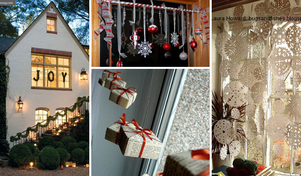 Top 30 Most Fascinating Christmas Windows Decorating Ideas   Amazing     christmas window decoration 0