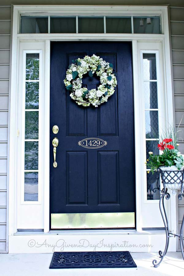 Door House Color Beautiful Front