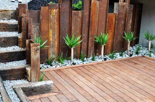 Wall Hanging Planters Outside
