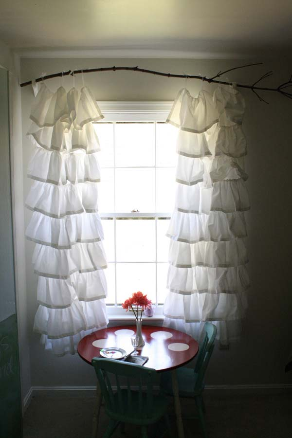 The Most 22 Cool No Sew Window Curtain Ideas Amazing Diy