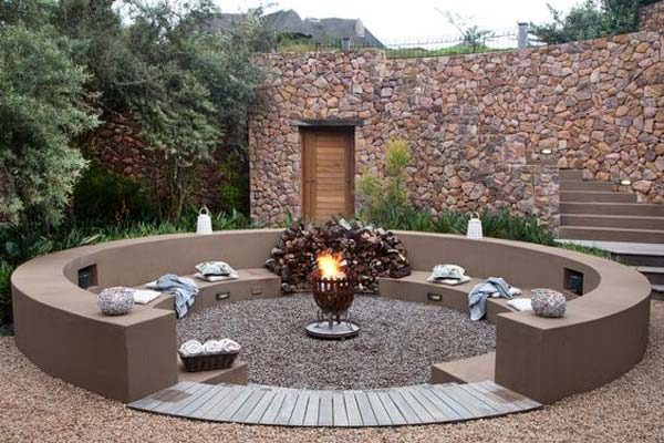 Pit Seating Fire Sunken Ideas