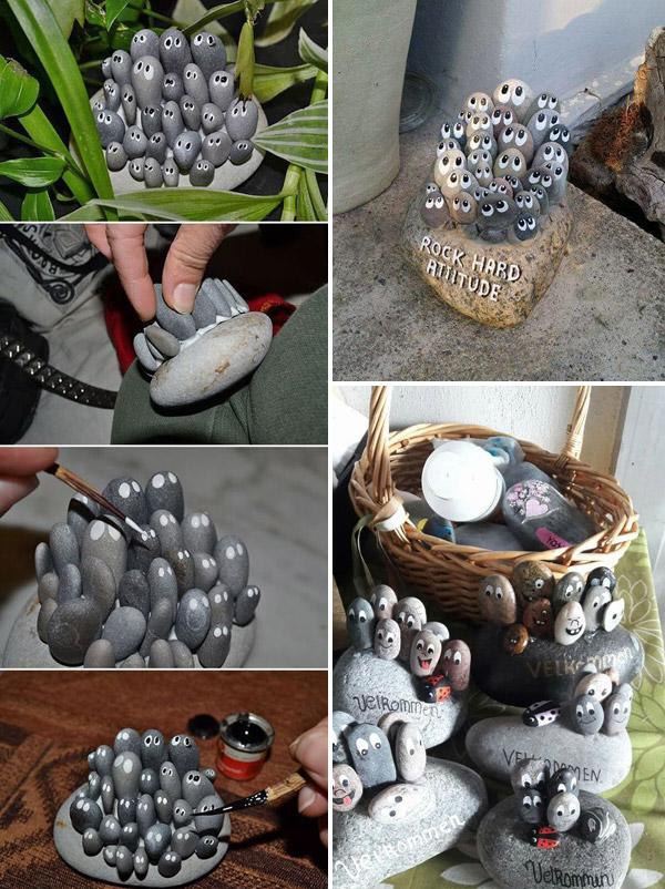 Outdoor Stones Pebbles