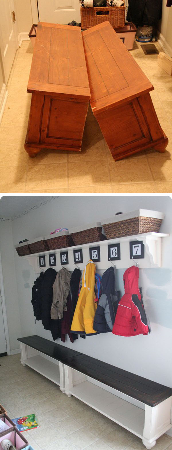 Awesome And Low Budget Ways To Re Purpose Old Furniture