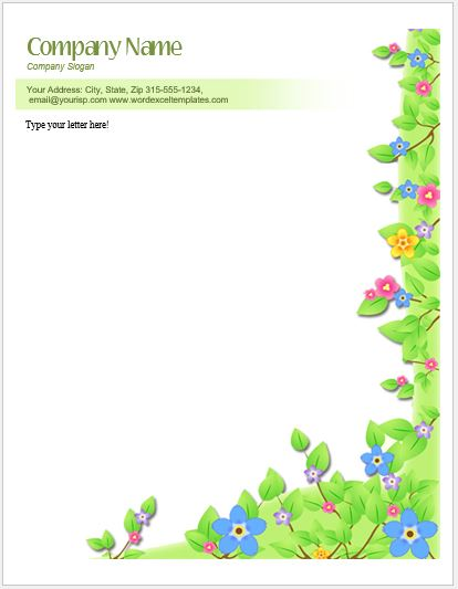Pink Template Letter Border Baby