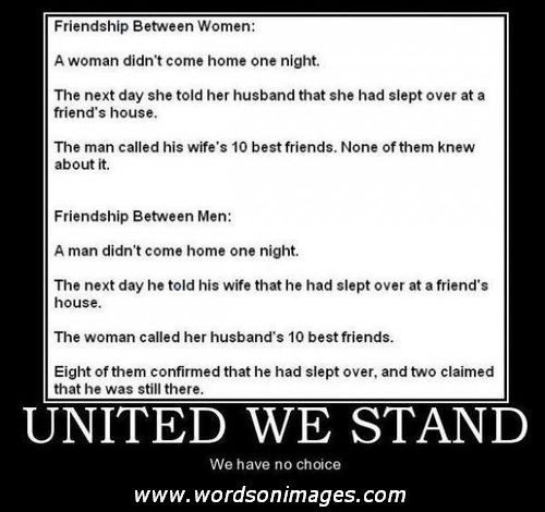 Quotes About Male Female Friendships