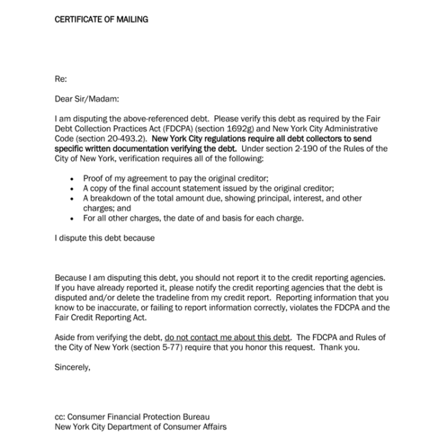 Examples Debt Recovery Letters